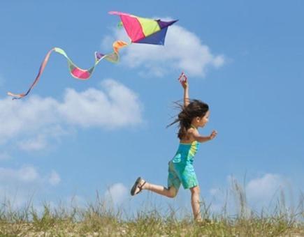 cerf volant enfant