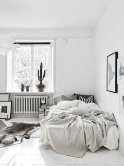 chambre style scandinave