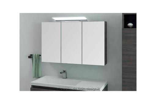 meuble miroir salle de bain