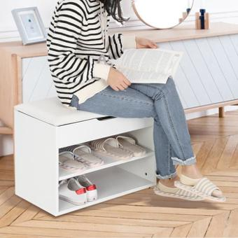 banc chaussures entree