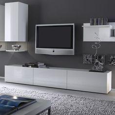 banc tv blanc